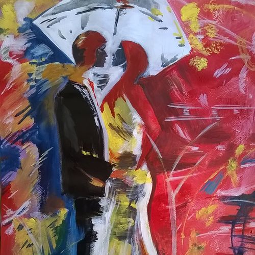 love, 21 x 30 inch, sayantan  ghati ,abstract expressionist paintings,paintings for bedroom,love paintings,paper,acrylic color,21x30inch,GAL07702328heart,family,caring,happiness,forever,happy,trust,passion,romance,sweet,kiss,love,hugs,warm,fun,kisses,joy,friendship,marriage,chocolate,husband,wife,forever,caring,couple,sweetheart