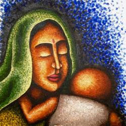 love, 24 x 18 inch, priyanka dutt,figurative paintings,paintings for living room,canvas,acrylic color,24x18inch,GAL08792330