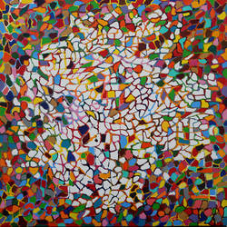 kaleidoscope , 36 x 36 inch, pooja  si ,36x36inch,canvas,abstract paintings,acrylic color,GAL01331123355