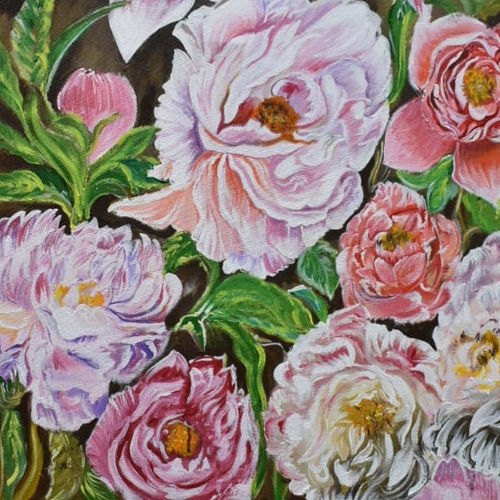 kindness where flower booms so does hope, 18 x 32 inch, prachi  jain ,18x32inch,canvas,paintings,modern art paintings,conceptual paintings,impressionist paintings,paintings for dining room,paintings for living room,paintings for bedroom,paintings for bathroom,paintings for hotel,acrylic color,GAL0769023382