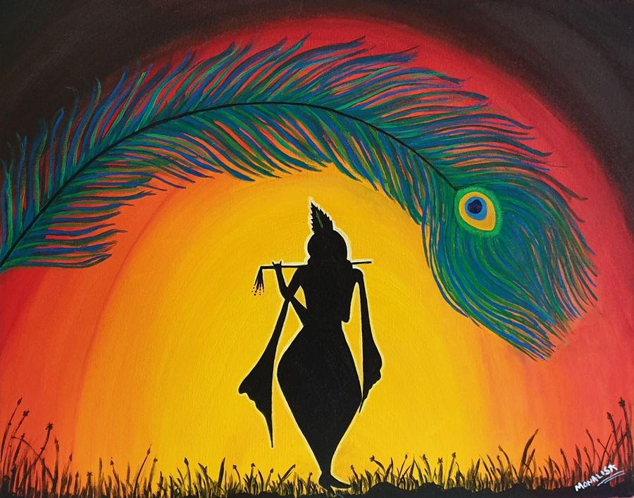 Buy Lord Krishna Painting at Lowest Price by Monalisa ...