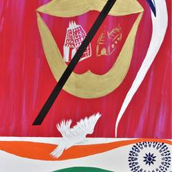 i am an indian and india is mine , 30 x 40 inch, hermon carduz,30x40inch,canvas,paintings,paintings for kitchen,paintings for dining room,paintings for living room,paintings for bedroom,paintings for hospital,acrylic color,GAL01349723525