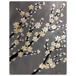 flowers of paradise, 14 x 18 inch, sadaf khan,14x18inch,canvas,paintings,abstract paintings,flower paintings,modern art paintings,realism paintings,paintings for dining room,paintings for living room,paintings for bedroom,paintings for office,paintings for bathroom,paintings for kids room,paintings for hotel,paintings for kitchen,paintings for school,paintings for hospital,acrylic color,GAL01247123528