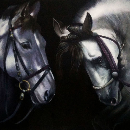 horses in romantic, 33 x 30 inch, ratheesan veniyil,33x30inch,canvas,paintings,paintings for dining room,paintings for living room,paintings for bedroom,paintings for hotel,paintings for hospital,paintings for dining room,paintings for living room,paintings for bedroom,paintings for hotel,paintings for hospital,oil color,GAL0930923549