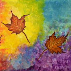autumn bliss colorful abstract, 24 x 18 inch, manjiri kanvinde,abstract paintings,paintings for living room,nature paintings,paintings for office,thick paper,acrylic color,24x18inch,GAL01202355Nature,environment,Beauty,scenery,greenery