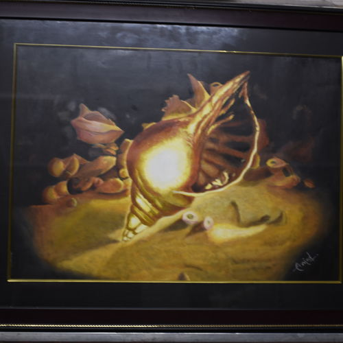 shine of success, 20 x 14 inch, arvind shaakya,20x14inch,oil sheet,paintings,still life paintings,paintings for living room,paintings for living room,oil color,GAL01065823563