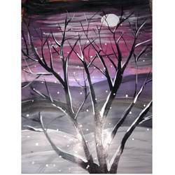 go out and paint the stars, 15 x 18 inch, simran tiwari,15x18inch,cartridge paper,landscape paintings,acrylic color,GAL01257523703