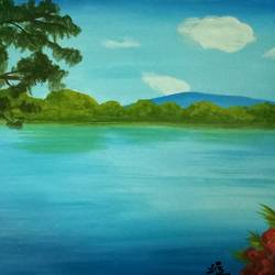 beautiful nature-2, 16 x 11 inch, vijay pratap,16x11inch,thick paper,landscape paintings,nature paintings,water fountain paintings,paintings for dining room,paintings for living room,paintings for bedroom,paintings for office,paintings for hotel,paintings for school,paintings for hospital,paintings for dining room,paintings for living room,paintings for bedroom,paintings for office,paintings for hotel,paintings for school,paintings for hospital,acrylic color,GAL0443623770