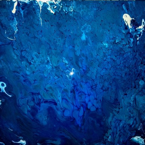 deep sea, 15 x 15 inch, arpita mitra,15x15inch,canvas,paintings,abstract paintings,modern art paintings,nature paintings,paintings for living room,paintings for office,paintings for bathroom,paintings for hotel,paintings for hospital,acrylic color,GAL01317723803