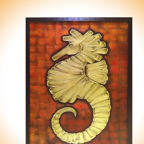 bright side of the sea world, 26 x 38 inch, sakshi agarwal,abstract paintings,paintings for dining room,canvas,acrylic color,26x38inch,GAL06712381