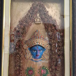 maa, 12 x 18 inch, ranita sharma,12x18inch,wood board,handicrafts,religious statues,mixed media,GAL01370523848