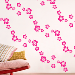 wall stencil: beautiful flower design wall stencil , 1 stencil (size 9x12 inches) | reusable | diy, 9 x 12 inch, wall stencil designs,9x12inch,ohp plastic sheets,flower designs,plastic,GAL0123874,ASB-39