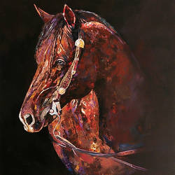 horse, 30 x 36 inch, raji p,30x36inch,canvas,paintings,figurative paintings,impressionist paintings,animal paintings,horse paintings,paintings for dining room,paintings for living room,paintings for bedroom,paintings for office,paintings for kids room,paintings for hotel,paintings for school,paintings for hospital,acrylic color,GAL059023885