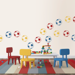 wall stencil: football wall stencil design for kids room,1 stencils (size 12x12 inches) | reusable | diy, 12 x 12 inch, wall stencil designs,12x12inch,ohp plastic sheets,flower designs,plastic,GAL0123903,ASB-230