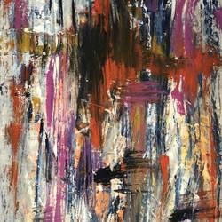 abstracts of life, 18 x 24 inch, neha bindra,18x24inch,canvas,abstract paintings,acrylic color,GAL0724623947