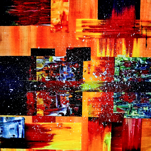 betelgeuse, 12 x 16 inch, nikita nelson,12x16inch,canvas,paintings,abstract paintings,paintings for dining room,paintings for living room,paintings for bedroom,paintings for hotel,paintings for hospital,acrylic color,GAL01324923980