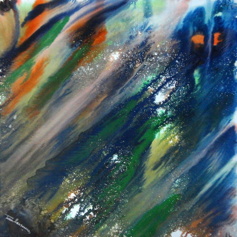 ghost, 22 x 22 inch, tamal sen sharma,22x22inch,cartridge paper,paintings,abstract paintings,abstract expressionism paintings,paintings for dining room,paintings for living room,paintings for bedroom,paintings for office,paintings for bathroom,paintings for kids room,paintings for hotel,paintings for kitchen,paintings for school,paintings for hospital,photo ink,GAL01201324008