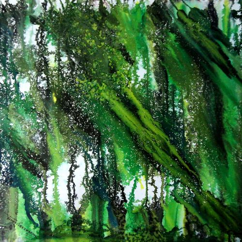 forest of duars, 22 x 22 inch, tamal sen sharma,22x22inch,cartridge paper,paintings,abstract paintings,paintings for dining room,paintings for living room,paintings for bedroom,paintings for office,paintings for bathroom,paintings for kids room,paintings for hotel,paintings for kitchen,paintings for school,paintings for hospital,photo ink,GAL01201324025