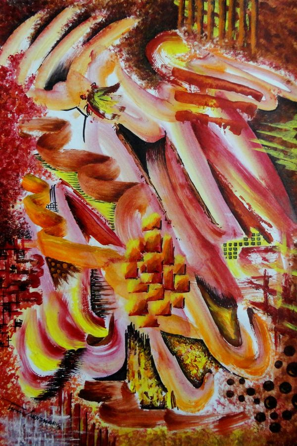 motion, 14 x 21 inch, tamal sen sharma,14x21inch,cartridge paper,paintings,abstract paintings,paintings for dining room,paintings for living room,paintings for bedroom,paintings for office,paintings for bathroom,paintings for kids room,paintings for hotel,paintings for kitchen,paintings for school,paintings for hospital,acrylic color,GAL01201324040