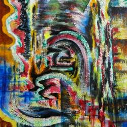 miracle, 14 x 21 inch, tamal sen sharma,14x21inch,handmade paper,paintings,abstract paintings,paintings for dining room,paintings for living room,paintings for bedroom,paintings for office,paintings for bathroom,paintings for kids room,paintings for hotel,paintings for kitchen,paintings for school,paintings for hospital,acrylic color,GAL01201324042