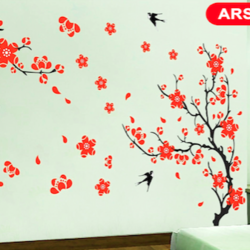 wall stencil: custom flower design wall stencil , 31 pieces stencil (size 36x54 inches) | reusable | diy, 36 x 54 inch, wall stencil designs,36x54inch,ohp plastic sheets,flower designs,plastic,GAL0124115,ARS40