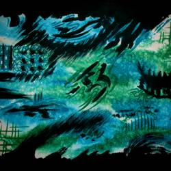 serinity, 21 x 14 inch, tamal sen sharma,21x14inch,cartridge paper,paintings,abstract paintings,modern art paintings,paintings for dining room,paintings for living room,paintings for bedroom,paintings for office,paintings for bathroom,paintings for kids room,paintings for hotel,paintings for kitchen,paintings for school,paintings for hospital,mixed media,GAL01201324225