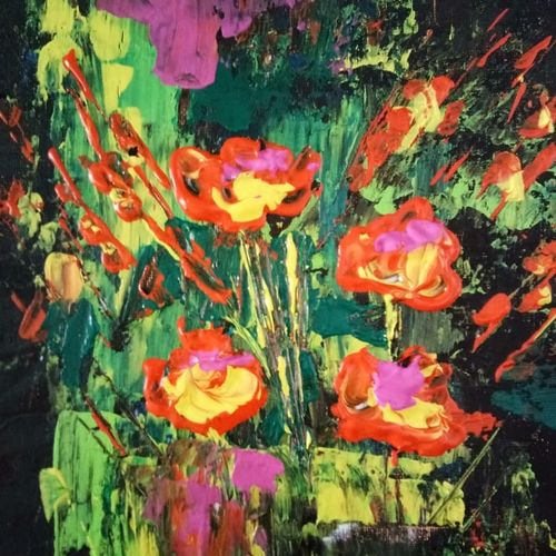 bittersweet, 16 x 20 inch, v s gaurav narayan,16x20inch,canvas board,paintings,abstract paintings,flower paintings,still life paintings,nature paintings,paintings for dining room,paintings for living room,paintings for bedroom,paintings for office,paintings for bathroom,paintings for kids room,paintings for hotel,paintings for kitchen,paintings for school,paintings for hospital,acrylic color,GAL01045424300