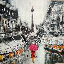 nuit en paris, 24 x 20 inch, v s gaurav narayan,24x20inch,canvas board,paintings,abstract paintings,figurative paintings,cityscape paintings,modern art paintings,paintings for dining room,paintings for living room,paintings for bedroom,paintings for office,paintings for bathroom,paintings for kids room,paintings for hotel,paintings for kitchen,paintings for school,paintings for hospital,acrylic color,GAL01045424305