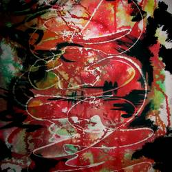 elomelo, 14 x 21 inch, tamal sen sharma,14x21inch,cartridge paper,paintings,abstract paintings,modern art paintings,paintings for dining room,paintings for living room,paintings for bedroom,paintings for office,paintings for bathroom,paintings for kids room,paintings for hotel,paintings for kitchen,paintings for school,paintings for hospital,mixed media,GAL01201324349