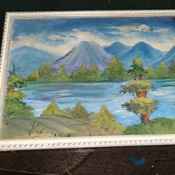 scenery, 14 x 18 inch, rayana saha,14x18inch,canvas board,paintings,landscape paintings,paintings for living room,paintings for office,paintings for hotel,oil color,GAL01304624359