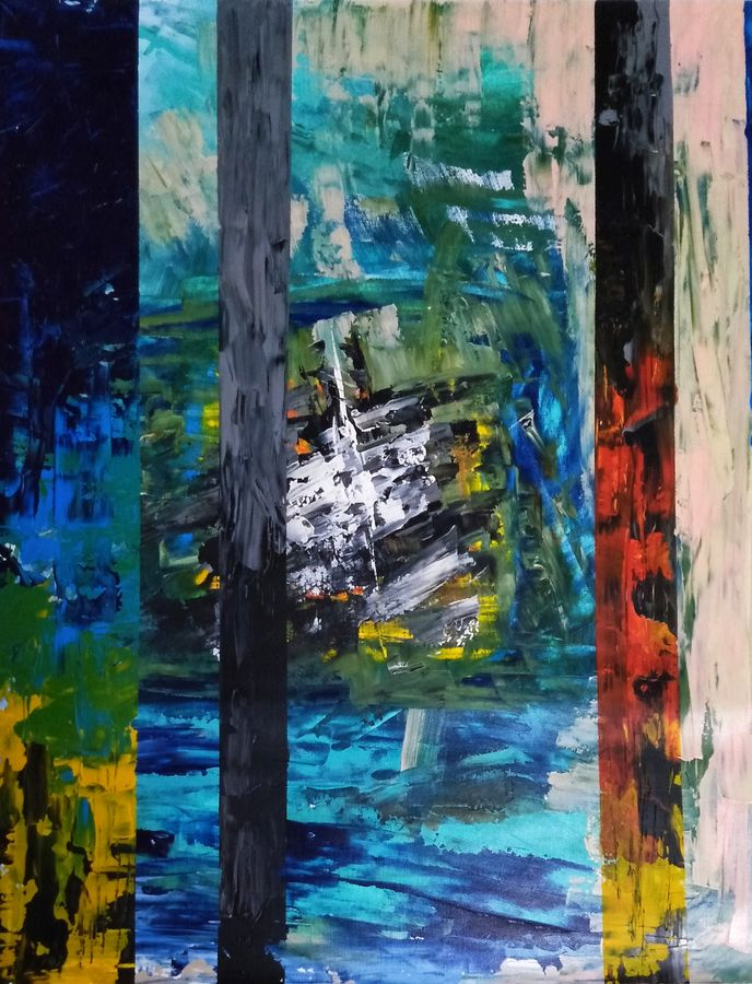 Abstract landscape 25