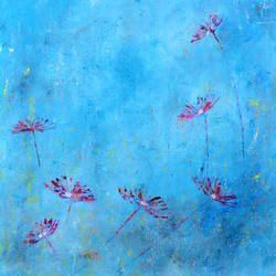 turquoise 4, 18 x 24 inch, cheena madan,18x24inch,canvas,paintings,abstract paintings,flower paintings,modern art paintings,nature paintings,impressionist paintings,contemporary paintings,paintings for dining room,paintings for living room,paintings for bedroom,paintings for office,paintings for hotel,paintings for hospital,acrylic color,GAL0545124605