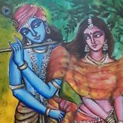 divine love , 23 x 31 inch, archana satapathy ,23x31inch,canvas,figurative paintings,acrylic color,GAL01407824620