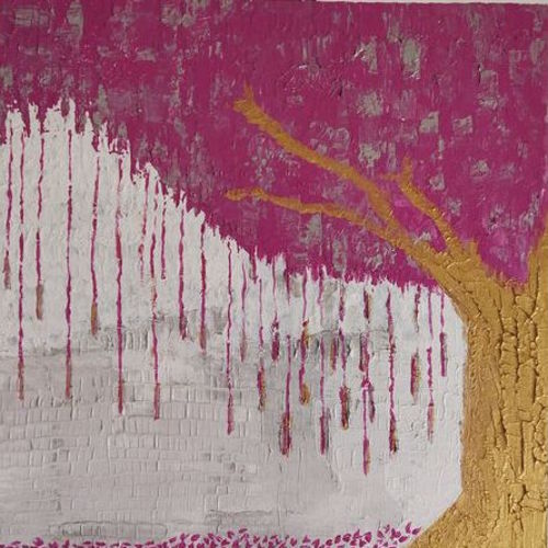spring gold, 15 x 15 inch, neha bhatkar,15x15inch,canvas board,paintings,modern art paintings,paintings for dining room,paintings for living room,paintings for bedroom,paintings for office,paintings for bathroom,paintings for kids room,paintings for hotel,paintings for kitchen,paintings for school,paintings for hospital,acrylic color,GAL01401524685