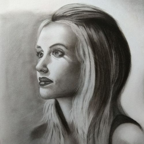 attitude, 12 x 17 inch, divya bhagat,12x17inch,drawing paper,drawings,fine art drawings,photorealism drawings,portrait drawings,paintings for dining room,paintings for living room,paintings for office,paintings for kitchen,paintings for school,paintings for hospital,charcoal,GAL0610324693