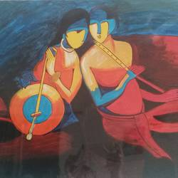 radha krishna-oil, 24 x 20 inch, aarti  singh ,abstract paintings,paintings for living room,radha krishna paintings,love paintings,canvas,oil,24x20inch,GAL09282470heart,family,caring,happiness,forever,happy,trust,passion,romance,sweet,kiss,love,hugs,warm,fun,kisses,joy,friendship,marriage,chocolate,husband,wife,forever,caring,couple,sweetheart