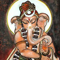 lord ganesha , 18 x 36 inch, manisha adhikari kiroula,18x36inch,canvas,paintings,figurative paintings,religious paintings,ganesha paintings,paintings for living room,paintings for office,paintings for kids room,paintings for hotel,paintings for school,acrylic color,sand,GAL01416824770,ganpati bappa morya,ganesh chaturthi,ganesh murti,elephant god,religious,lord ganesh,ganesha,om,hindu god,shiv parvati, putra,bhakti,blessings,aashirwad,pooja,puja,aarti,ekdant,vakratunda,lambodara,bhalchandra,gajanan,vinayak,prathamesh,vignesh,heramba,siddhivinayak,mahaganpati,omkar,mushak,mouse,ladoo,modak,shlok