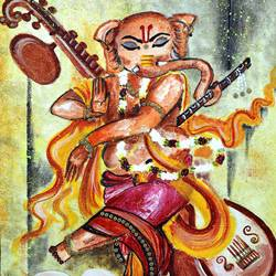 musical ganesha, 12 x 16 inch, manisha adhikari kiroula,12x16inch,canvas,paintings,ganesha paintings,paintings for living room,paintings for office,paintings for kids room,paintings for hotel,paintings for school,acrylic color,GAL01416824774,ganpati bappa morya,ganesh chaturthi,ganesh murti,elephant god,religious,lord ganesh,ganesha,om,hindu god,shiv parvati, putra,bhakti,blessings,aashirwad,pooja,puja,aarti,ekdant,vakratunda,lambodara,bhalchandra,gajanan,vinayak,prathamesh,vignesh,heramba,siddhivinayak,mahaganpati,omkar,mushak,mouse,ladoo,modak,shlok