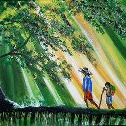 morning , 18 x 12 inch, goutam ashish mohapatra,18x12inch,canvas board,landscape paintings,nature paintings,paintings for dining room,paintings for living room,paintings for bedroom,paintings for office,paintings for hotel,paintings for dining room,paintings for living room,paintings for bedroom,paintings for office,paintings for hotel,acrylic color,GAL01323824805
