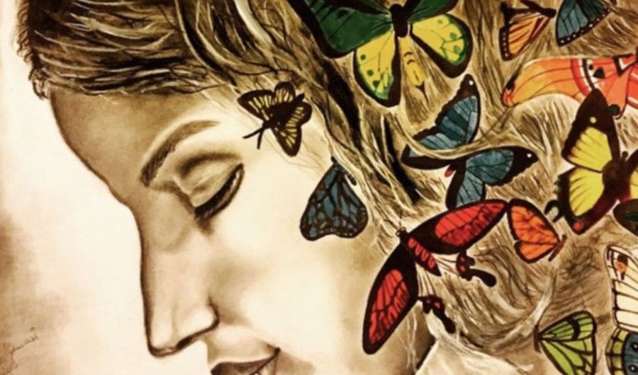 butterfly effect, 19 x 16 inch, jahanvi kumari,19x16inch,paper,paintings,conceptual paintings,portrait paintings,realism paintings,contemporary paintings,paintings for dining room,paintings for living room,paintings for bedroom,paintings for office,paintings for bathroom,paintings for kids room,paintings for hotel,paintings for kitchen,paintings for school,paintings for hospital,paintings for dining room,paintings for living room,paintings for bedroom,paintings for office,paintings for bathroom,paintings for kids room,paintings for hotel,paintings for kitchen,paintings for school,paintings for hospital,charcoal,mixed media,photo ink,GAL01421224823