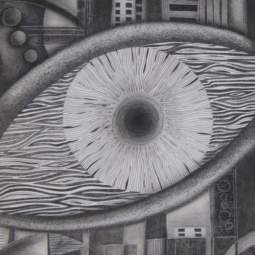 vision, 15 x 18 inch, madhavi jawale,abstract drawings,paintings for dining room,thick paper,pencil color,15x18inch,GAL010012488