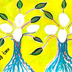 egg tree, 20 x 16 inch, rita dash,20x16inch,canvas,paintings,abstract paintings,paintings for dining room,paintings for living room,paintings for office,paintings for hotel,paintings for school,paintings for dining room,paintings for living room,paintings for office,paintings for hotel,paintings for school,acrylic color,wood,GAL01382124880