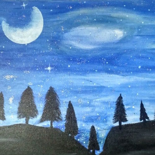 dark night , 24 x 16 inch, sumit  sharma,24x16inch,canvas,abstract paintings,nature paintings,paintings for dining room,paintings for living room,paintings for bedroom,paintings for office,paintings for hotel,paintings for school,paintings for hospital,paintings for dining room,paintings for living room,paintings for bedroom,paintings for office,paintings for hotel,paintings for school,paintings for hospital,acrylic color,GAL01425824945