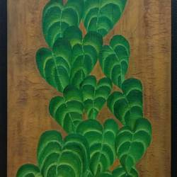 growth, 18 x 36 inch, ekta dadhich,18x36inch,canvas,nature paintings,oil color,GAL01421424946