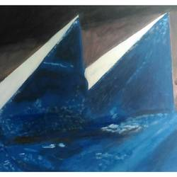 pyramids et, 28 x 20 inch, rajinder koul,28x20inch,canvas,paintings,abstract paintings,landscape paintings,modern art paintings,conceptual paintings,nature paintings,surrealism paintings,contemporary paintings,acrylic color,GAL01404525028