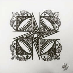 geometric lotus mandala, 7 x 5 inch, suveeksha santhoshi,7x5inch,thick paper,drawings,abstract drawings,abstract expressionism drawings,conceptual drawings,expressionism drawings,ball point pen,paper,GAL01434425051