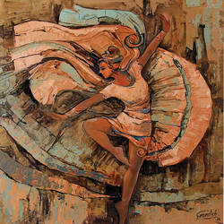 the muse of dance (2), 18 x 18 inch, gurdish pannu,18x18inch,canvas,figurative paintings,folk art paintings,foil paintings,portrait paintings,expressionism paintings,impressionist paintings,realism paintings,contemporary paintings,love paintings,paintings for dining room,paintings for living room,paintings for office,paintings for hotel,paintings for dining room,paintings for living room,paintings for office,paintings for hotel,acrylic color,GAL0253725054