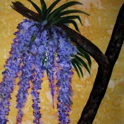 orchid of duars-1, 8 x 12 inch, tamal sen sharma,8x12inch,cartridge paper,paintings,flower paintings,nature paintings,miniature painting.,paintings for dining room,paintings for living room,paintings for bedroom,paintings for office,paintings for bathroom,paintings for kids room,paintings for hotel,paintings for kitchen,paintings for school,paintings for hospital,acrylic color,mixed media,GAL01201325060