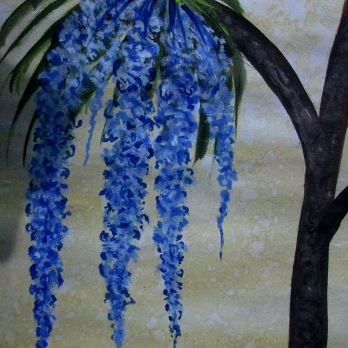 orchid of duars-4, 8 x 12 inch, tamal sen sharma,8x12inch,cartridge paper,paintings,flower paintings,nature paintings,miniature painting.,paintings for dining room,paintings for living room,paintings for bedroom,paintings for office,paintings for bathroom,paintings for kids room,paintings for hotel,paintings for kitchen,paintings for school,paintings for hospital,acrylic color,mixed media,GAL01201325069
