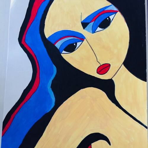 incomplete dreams, 12 x 15 inch, shruti jain,12x15inch,ivory sheet,paintings,abstract paintings,figurative paintings,modern art paintings,paintings for dining room,paintings for living room,acrylic color,GAL01403925157